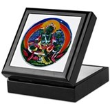 Green Tara Buddhist Keepsake Box