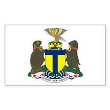 Toronto Coat of Arms Rectangle Decal