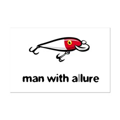 Man with Allure Posters