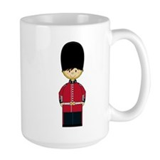 Cute British Royal Guard Mug (Large)