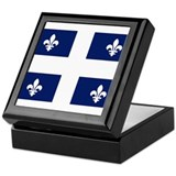 Quebec Flag Keepsake Box