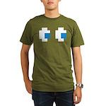 Ghost Eyes Organic Men's T-Shirt (dark)