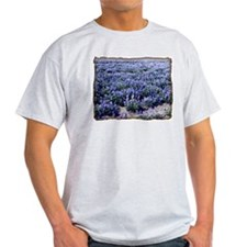 BlueBonnets Ash Grey T-Shirt
