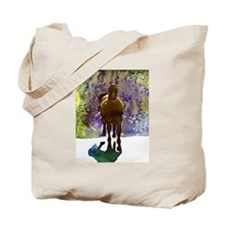 Equine in Watercolor Tote Bag