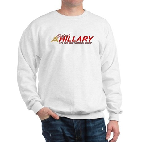 Defeat Hillary 2008 Sweatshirt