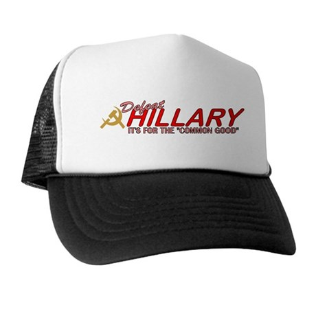Defeat Hillary 2008 Trucker Hat