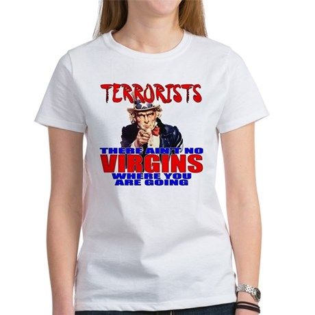 Anti-Terrorist Conservative Women's T-Shirt
