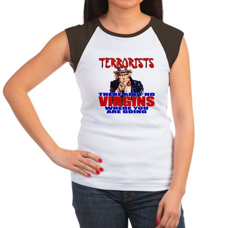 Anti-Terrorist Conservative Women's Cap Sleeve T-S