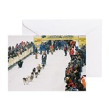 Sled Dog Greeting Cards (Pk of 10)