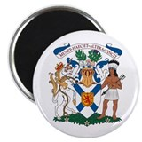 "Nova Scotia Coat of Arms 2.25"" Magnet (10 pack)"