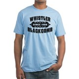 Whistler Blackcomb Old Black Shirt