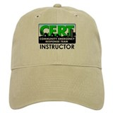 CERT Instructor Baseball Cap