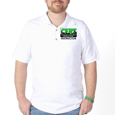 CERT Instructor Golf Shirt
