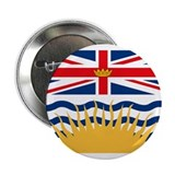 "British Columbia Flag 2.25"" Button (10 pack)"