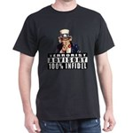 Uncle Sam Infidel Black T-Shirt