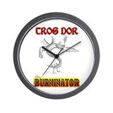 Trog Dor Wall Clock