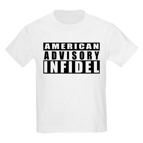 Advisory: American Infidel Kids T-Shirt