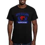 New Zealand Men's Fitted T-Shirt (dark)