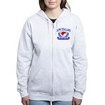 New Zealand Women's Zip Hoodie