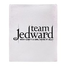 Team Jedward Throw Blanket