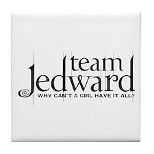 Team Jedward Tile Coaster