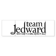 Team Jedward Sticker (Bumper)