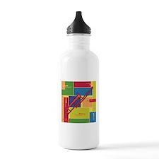 Trombone Colorblocks Water Bottle