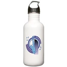 Saxophone Deco2 Water Bottle