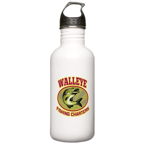 walleye fish Stainless Water Bottle 1.0L
