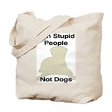 Funny American staffordshire terrier Tote Bag