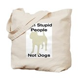 Cute American staffordshire terrier Tote Bag