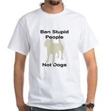 Funny Ban stupid people Shirt