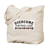 Improvise, Adapt, Overcome Tote Bag