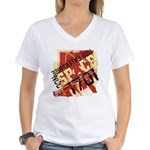 The Final Frontier Women's V-Neck T-Shirt