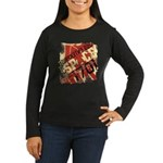 The Final Frontier Women's Long Sleeve Dark T-Shir