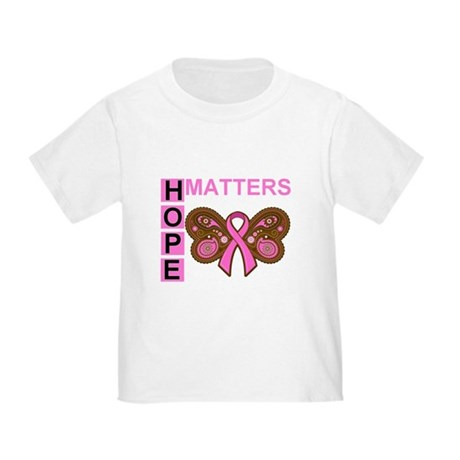 HopeMatters BreastCancer Toddler T-Shirt