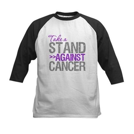 TakeaStandPancreaticCancer Kids Baseball Jersey