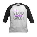 Take a Stand Pancreatic Cancer Kids Baseball Jerse