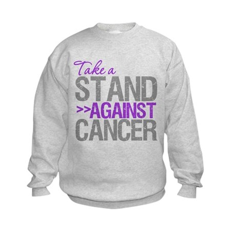 TakeaStandPancreaticCancer Kids Sweatshirt