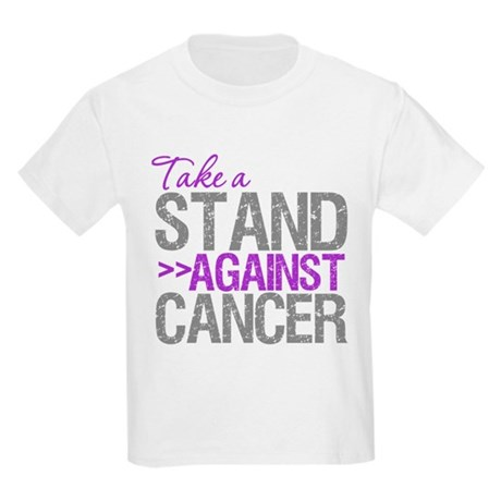 TakeaStandPancreaticCancer Kids Light T-Shirt