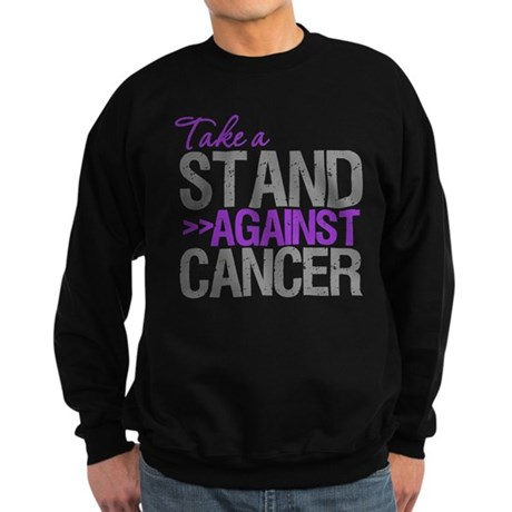 TakeaStandPancreaticCancer Sweatshirt (dark)