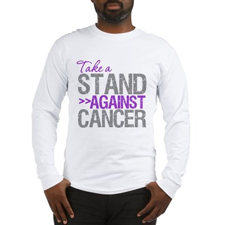 TakeaStandPancreaticCancer Long Sleeve T-Shirt
