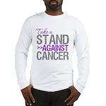 Take a Stand Pancreatic Cancer Long Sleeve T-Shirt