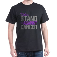 TakeaStandPancreaticCancer Dark T-Shirt