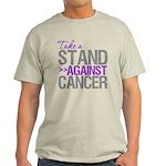 Take a Stand Pancreatic Cancer Light T-Shirt