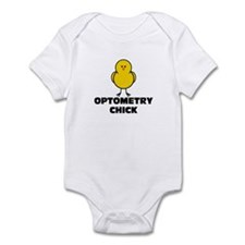 Optometry Chick Infant Bodysuit