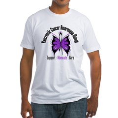 Pancreatic Cancer Month Fitted T-Shirt
