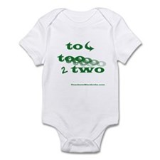 To Too Two Infant Bodysuit