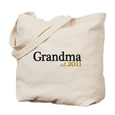 New Grandma Est 2011 Tote Bag