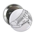 """Basketball Sneaker 2.25"""" Button (100 Pk)"""